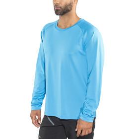 POC Resistance DH LS Jersey Men furfural blue